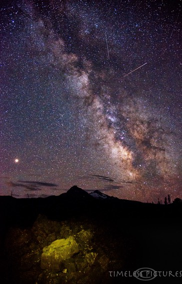 Mars-meets-Milkyway